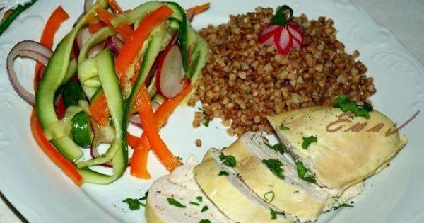 Gotowana Pierś z Kurczaka - Dietetyczne :-)