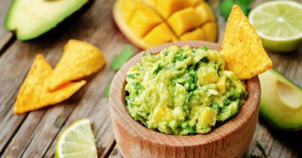 Guacamole z mango