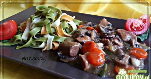 Gulasz wieprzowo - warzywny do makaronu - gulasz wieprzowo warzywny a do tego makaron ...