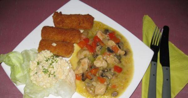 Gulasz z piersi kurczaka z warzywami  - Gulasz z piersi kurczaka z warzywami