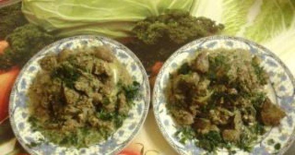 Gulasz z podrobów drobiowych - oto gotowe danie