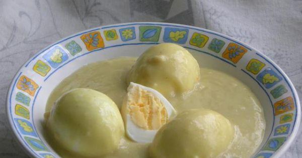 Jaja w sosie musztardowym - Jajka w sosie musztardowym