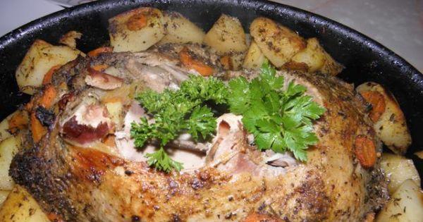 Kaczka faszerowana warzywami - Ciężko było się jej oprzeć. Wspaniała, soczysta kaczka z warzywami