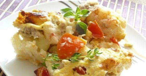 Kalafior zapiekany z mięsem - Pyszne i sycące danie na wiosenny obiad