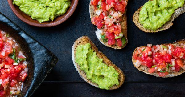 Kanapki z guacamole