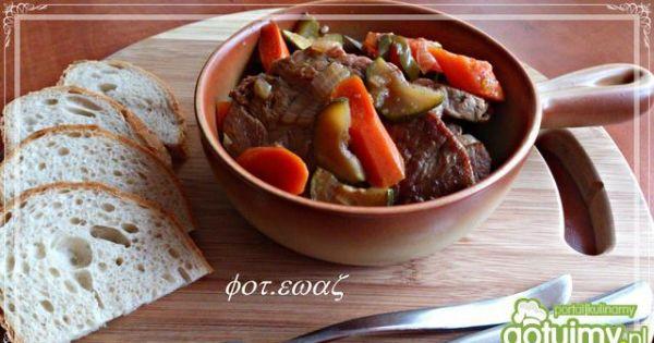 Karczek duszony w warzywach - karczek duszony w warzywach dobrze smakuje z samym pieczywem