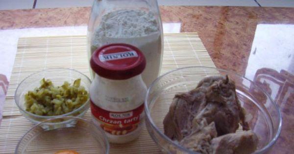 Karczek w sosie chrzanowym - Składniki niezbędne do przygotowania pysznego karczku