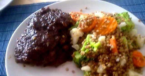 Karkówka w sosie śliwkowym - Tak mało składników a taki pyszny obiad!
