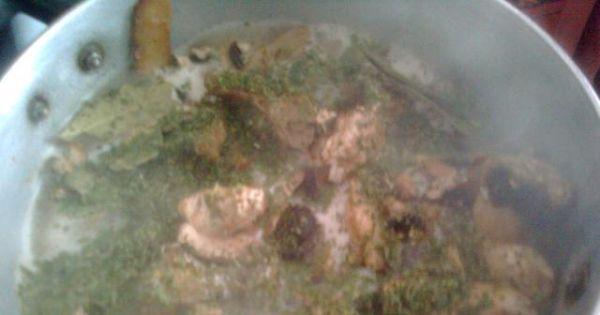 Kluski śląskie z sosem pieczarkowym 2 - Z podanych składników na sos, został przygotowany sos pieczarkowy