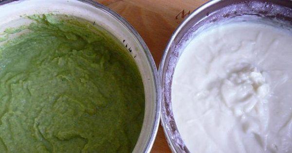 Krem brokułowo kalafiorowy od serca - Krem kalafiorowy na bulionie i brokułowy