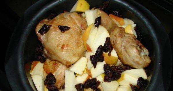 Kurczak smażony - zapiekany - Etap 3 - kurczaka przełóż do pojemnika do zapiekania