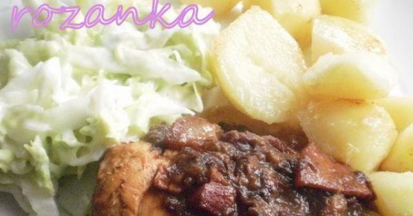 Kurczak w sosie śliwkowym - Zdjęcie główne