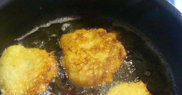 Mieszane placki na słodko - na oleju śmażyć małe rumiane placuszki