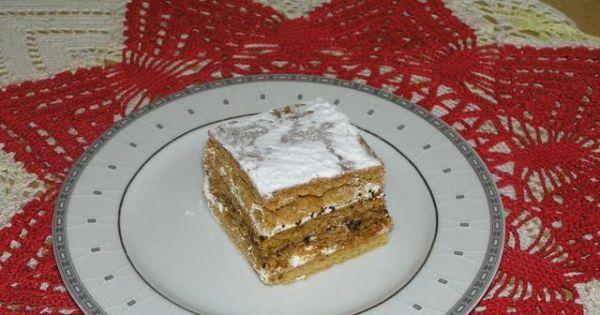 Miodowiec - Aby ciasto nie było za slodkie dobrze jest dodać kwasne powidła