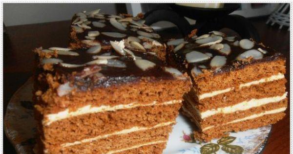 Miodownik z kremem - Pyszne miodowe ciasto najlepsze gdy poleży dłuzej niż jeden dzień!