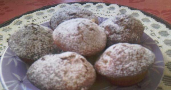 Mufinki z rodzynkami i jabłkiem dla Damy - Mufinki z rodzynkami i jabłkiem dla Damy