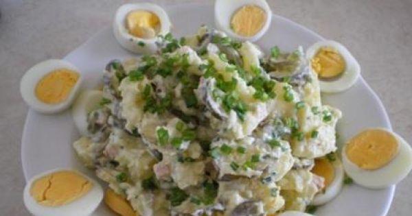 Przepis Niemiecka Salatka Kartofelsalad Przepis Gotujmy Pl