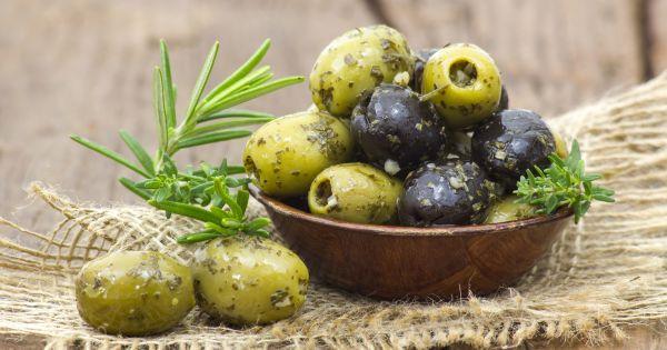 Oliwki marynowane w ziołach