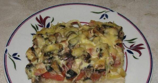 Pizza domowa - Pizza domowa