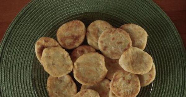 placuszki z gotowanymi ziemniakami - Tak wygladają placuszki po usmażeniu na złoty kolor