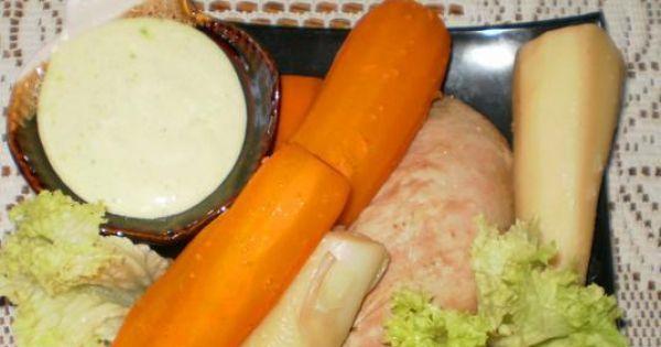 Polędwica wieprzowa gotowana z warzywami - Polędwica wieprzowa gotowana z warzywami