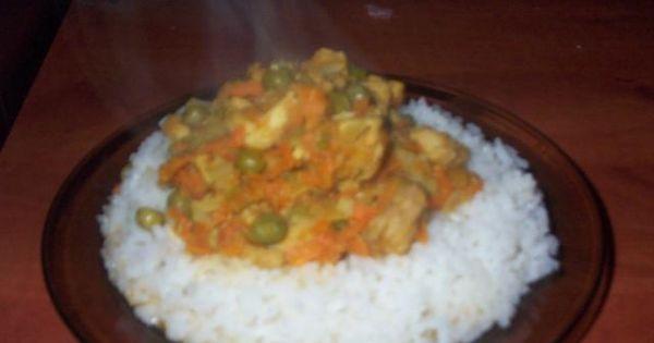 Potrawka z ryżu - Gotowa potrawka z ryżu