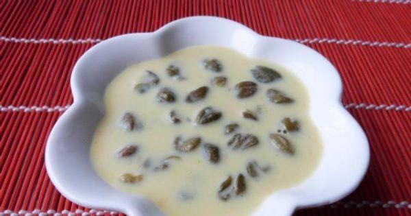 Pyszny sos z kaparów - Sos z kaparów można podawać na zimno lub na gorąco