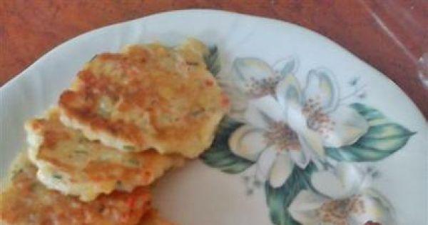 Racuszki z gotowanych ziemniaków - Placki z gotowanych ziemniaków z papryką.