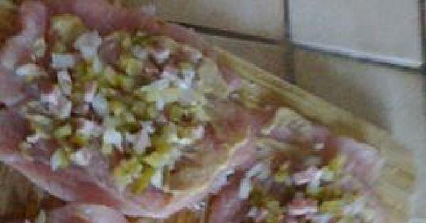 Roladki drobiowe w sosie własnym - Ogórki