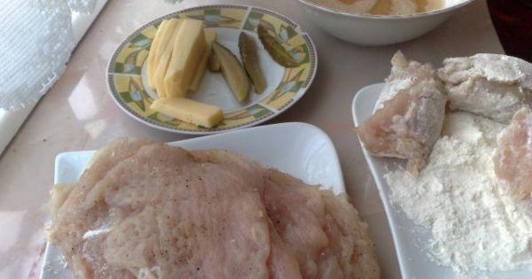 Roladki z piersi z kurczaka - Tak wygladają rozbite i przyprawione filety