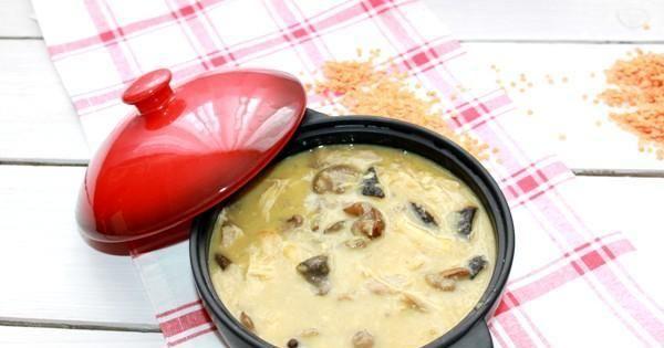 Rozgrzewająca zupa z soczewicy czerwonej - Rozgrzewająca sycąca i smaczna taka własnie jest zupa z soczewicą