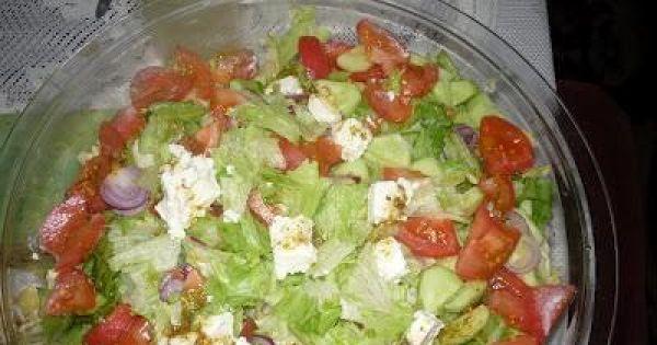 Salatka Grecka z Feta sa Atka Grecka z Serem Feta