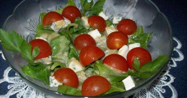 Sałatka szpinakowa - Zdjęcie główne