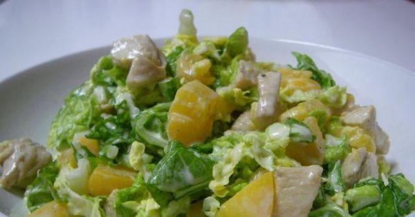 Salatka z kapusty pekinskiej - Salatka z kapusty pekinskiej