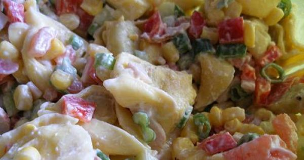 Salatka z ravioli - Zdjęcie główne