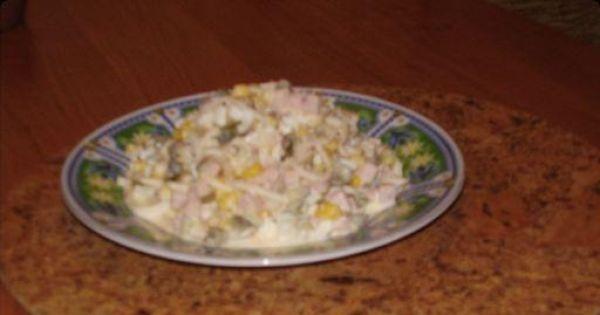Sałatka z selerem konserwowym - Sałatka z selerem konserwowym