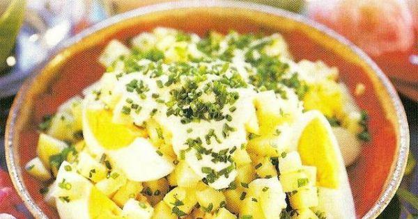 Sałatka z ziemniakami i jajkiem - Samczna