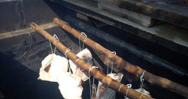 Schab wędzony - wędzimy w jednakowej temperaturze na drewnie owocowym