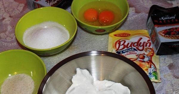 Sernik z kaszą manną 2 - składniki potrzebne  do zrobienia sernika