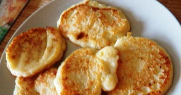 Serowe placuszki - Placuszki serowe pachnące wanilią to ciekawa propozycją na kolację