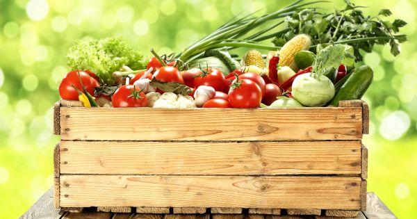 Skrzynka z warzywami