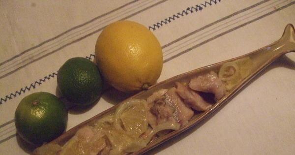 Śledzie na kwaśno Dorci - Pyszny sledzik z cytryna i lemonka na Wigilie