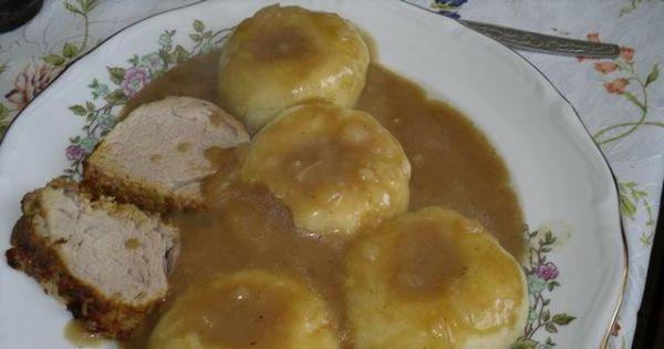 Sos do klusek śląskich - cebulowy sosik do polewania pieczeni lub śląskich klusek