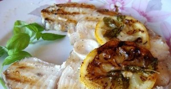 Stek z rekina -  Grillujemy na grillu tak jak kto lubi.