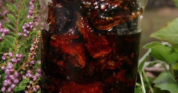 Suszone pomidory w oliwie - Suszone pomidory w oliwie