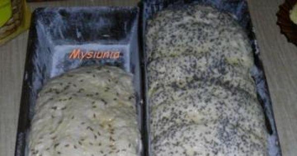 Swojski chleb - po włożeniu do formy czekamy az wyrośnie