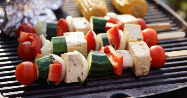 Szaszłyk z tofu