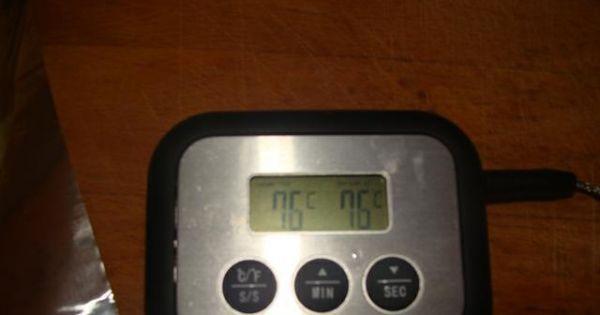 Szynka gotowana - Kiedy temperatura wewnątrz szynki wynosi ok 75*C należy ją wyjąć