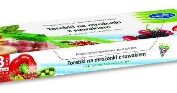 Torebki na żywność z suwakiem Gotujmy.pl