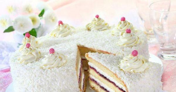Tort kokosowy - Tort kokosowy